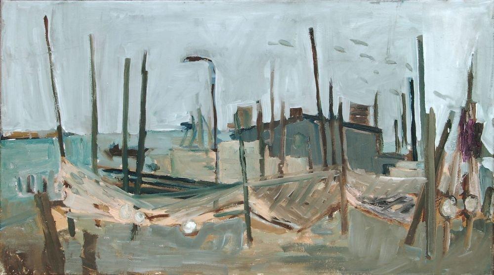 "Gottfried Braeunling ""Kaminke"" (Usedom). 1979."