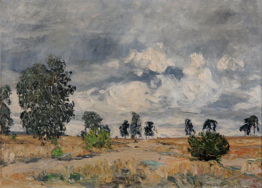 "Otto Altenkirch ""Birckenheide"". 1923."