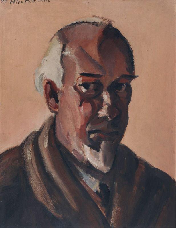 Peter Breithut, Selbstbildnis. 1929.