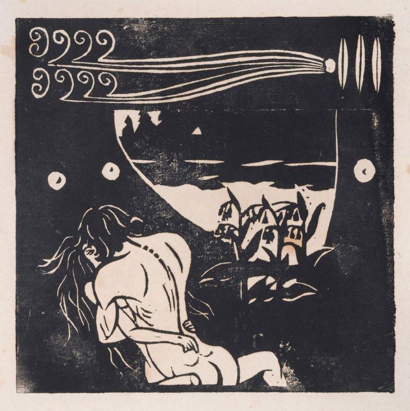 "Ernst Ludwig Kirchner ""Coalescence"". 1905."