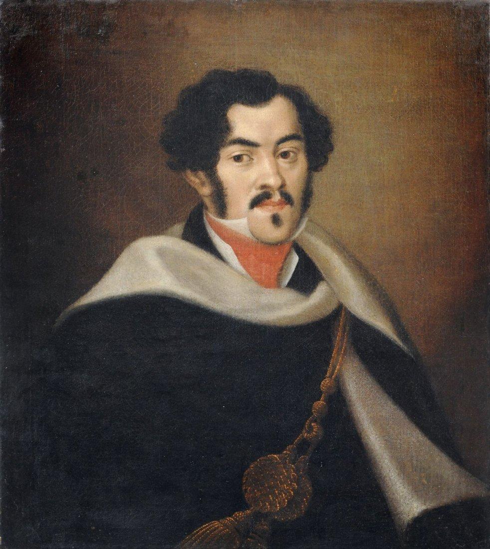 Unbekannter Kuenstler, Portrait eines Herren mit