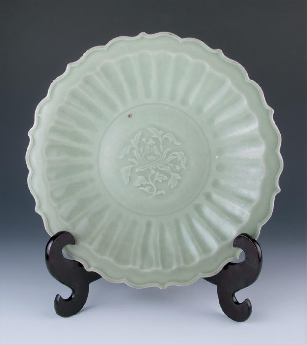 A Large Longquan Plate