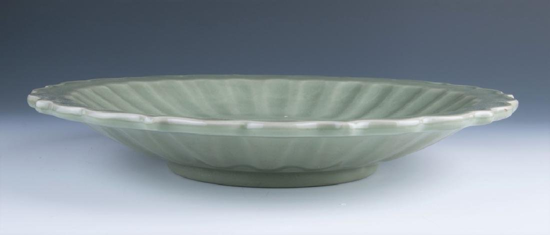 A Large Longquan Plate - 3