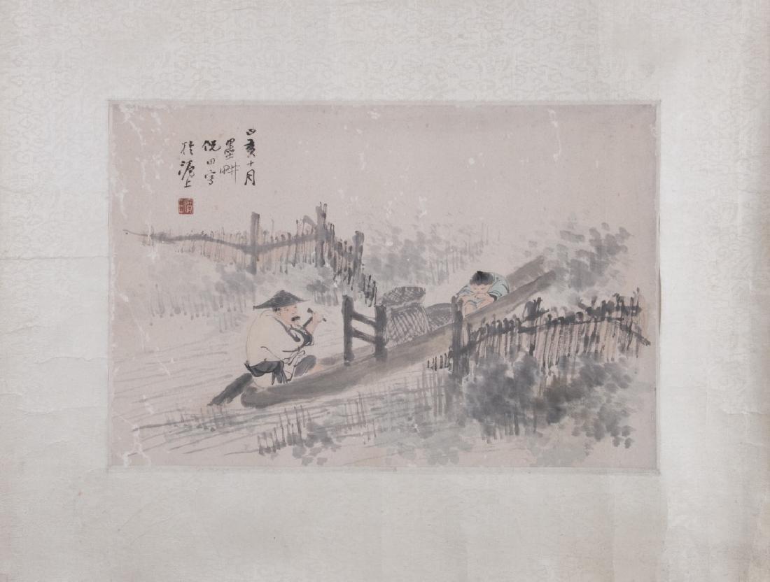 Ni Tian (1855-1919) Figures
