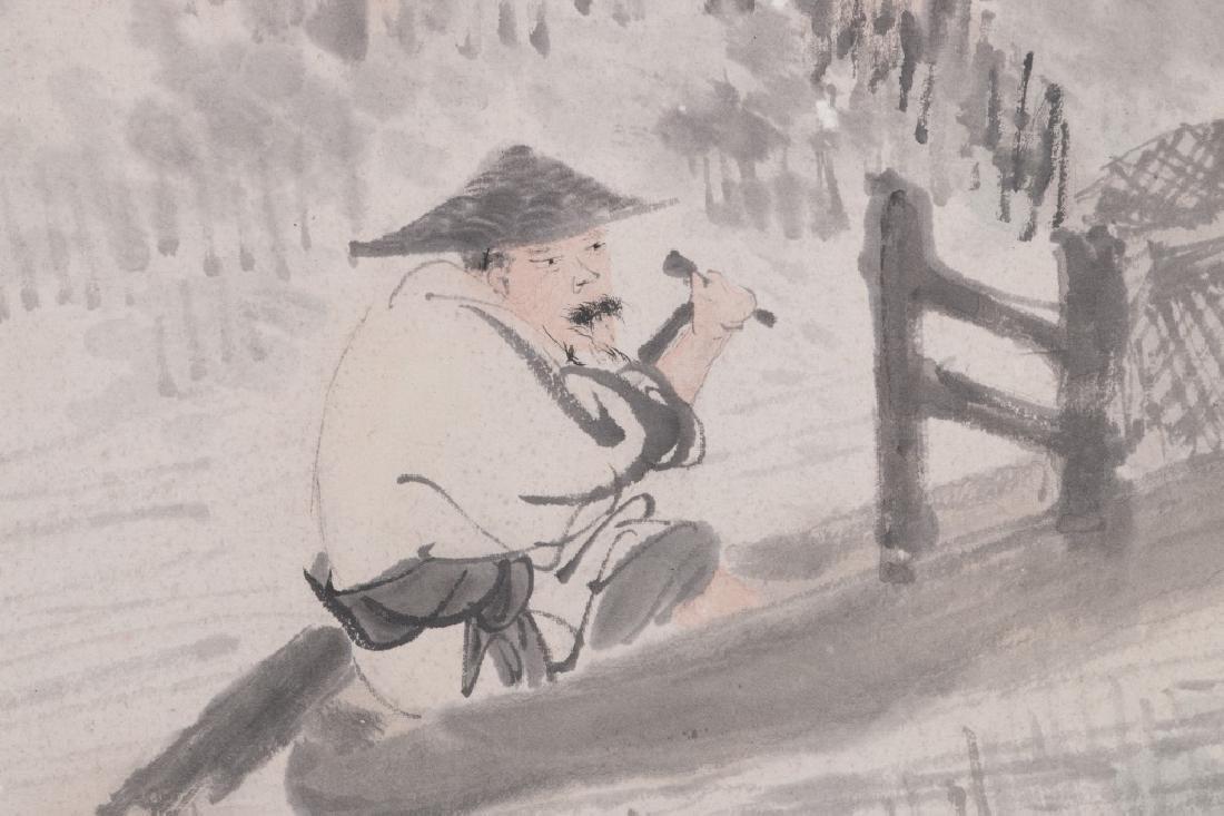 Ni Tian (1855-1919) Figures - 5