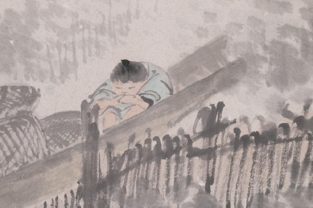 Ni Tian (1855-1919) Figures - 6