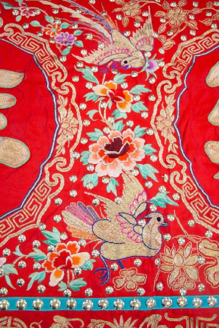 Two Pieces of Cantonese Embroideries - 3
