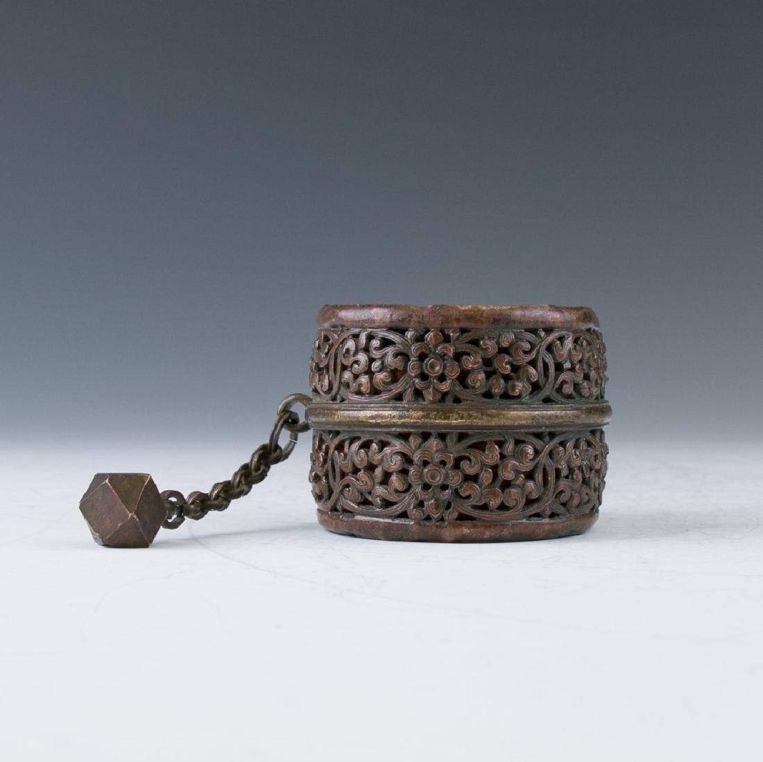 A Bronze Tibetan Apparatus