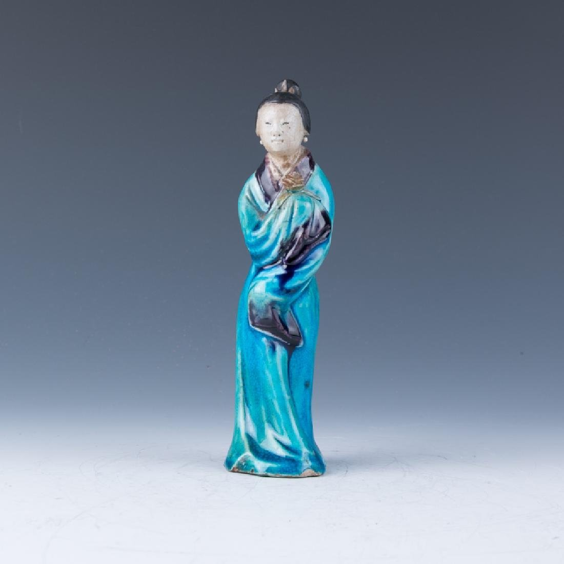 A Porcelain Figure of Lady