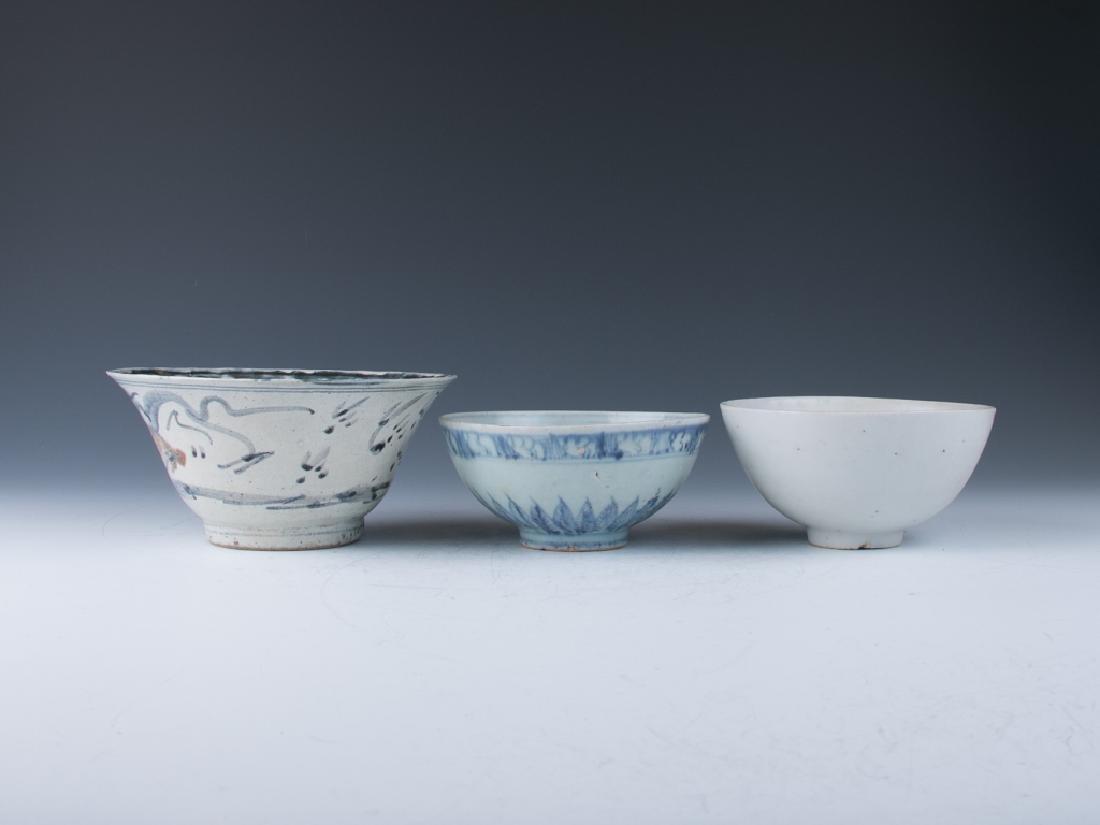 A Group of Porcelain Bowls