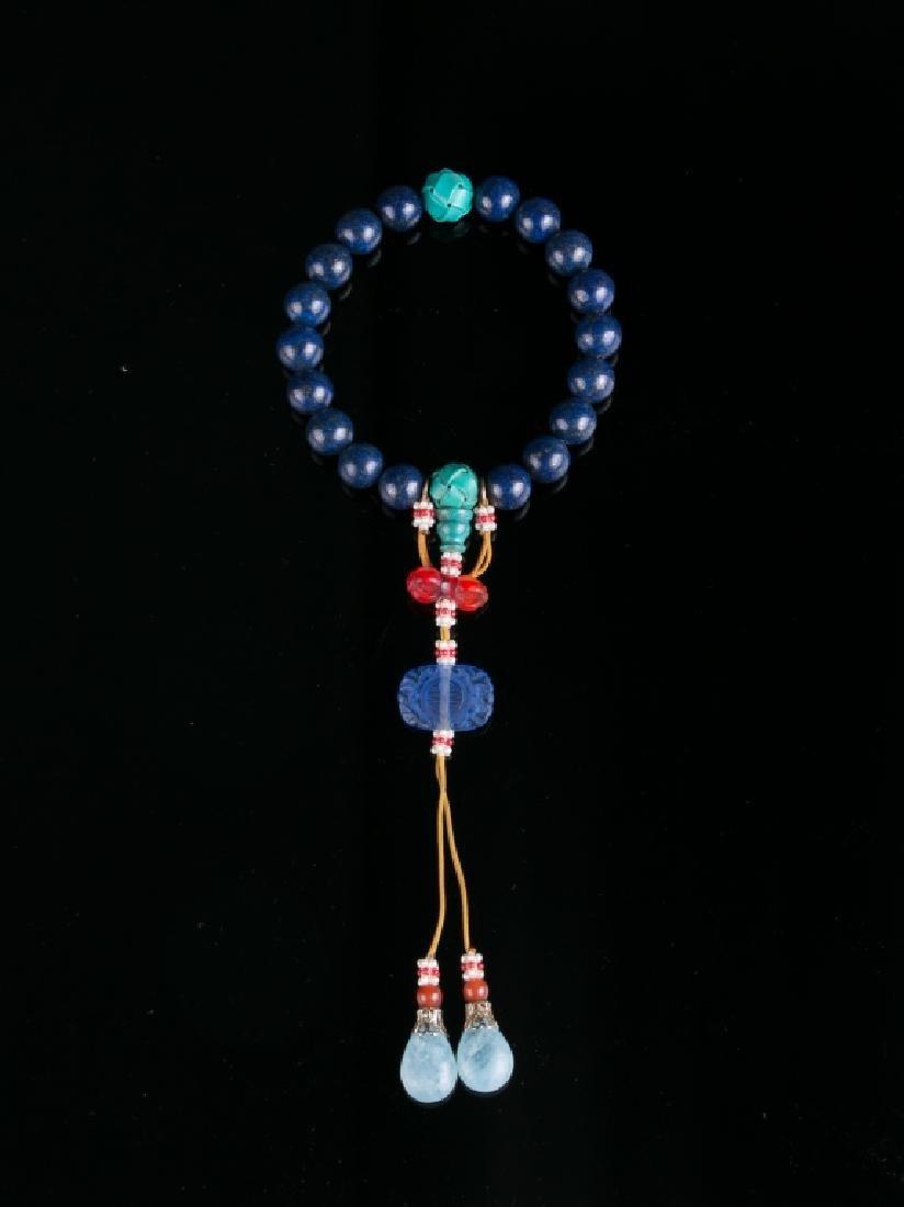 A Lapis Lazuli Bracelet