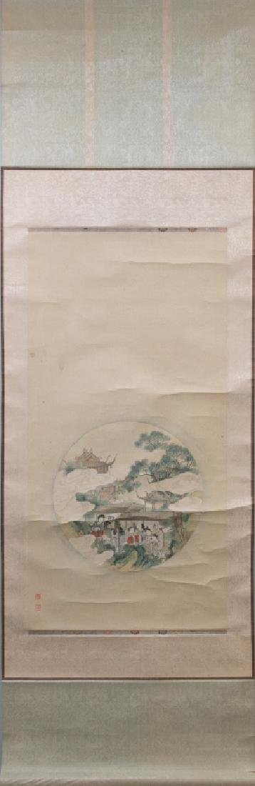 Late Qing Painting of Female Figure - 3