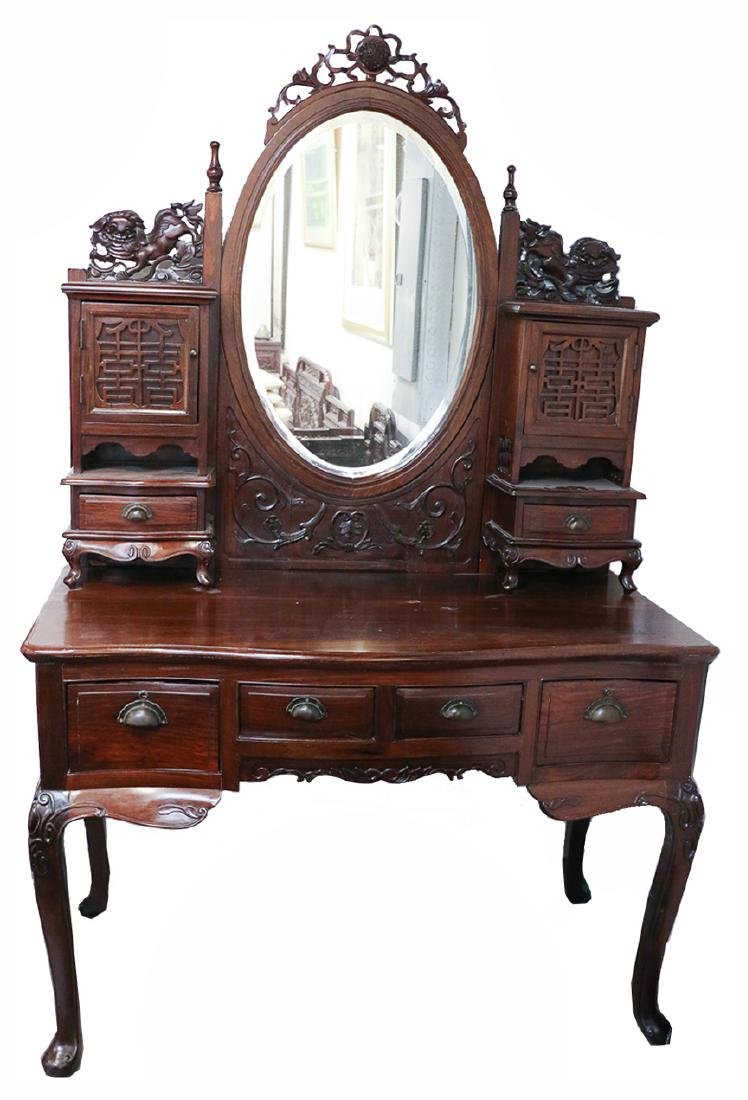 SUANZHI WOOD DRESSING TABLE LATE QING