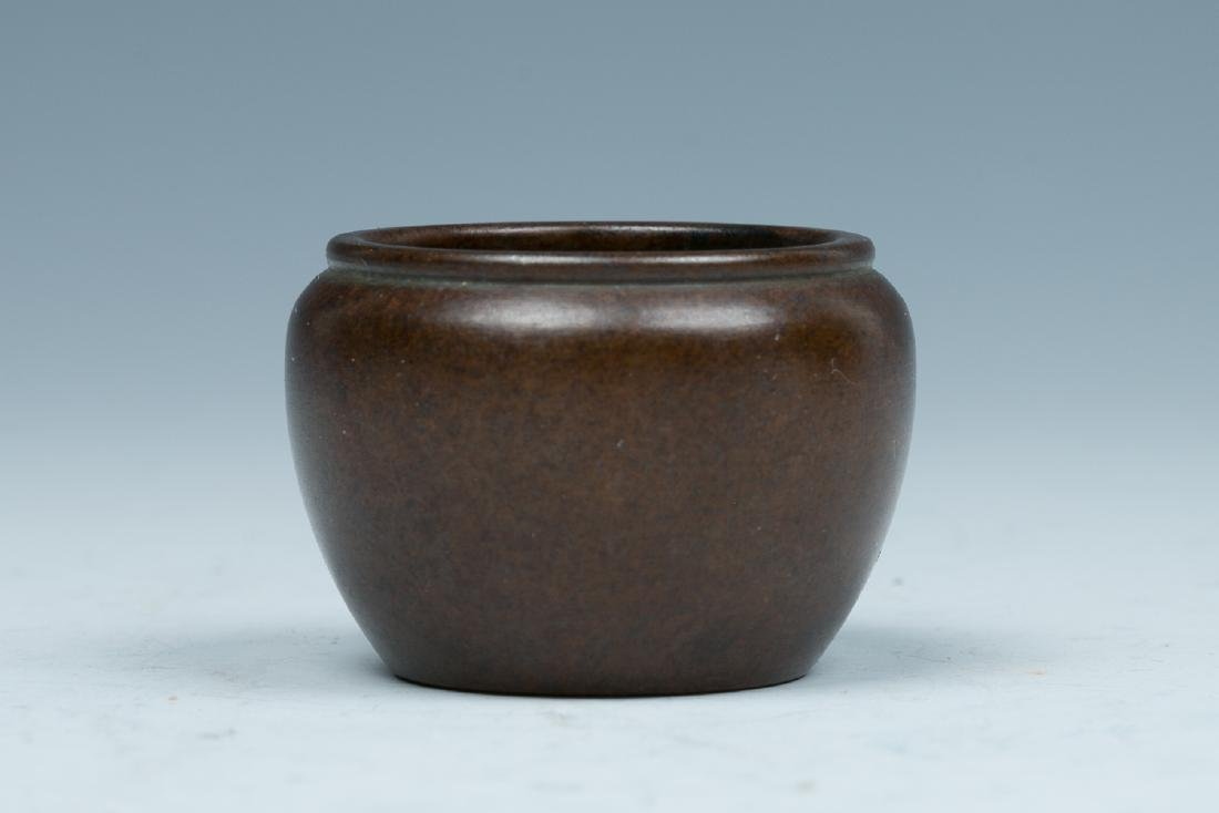 XUANDE BRONZE CENSER, LATE QING TO REPUBLICAN
