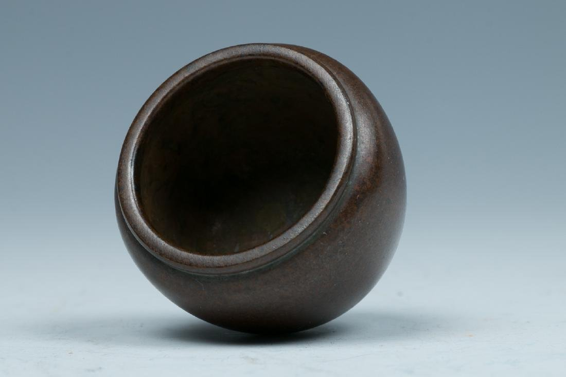 XUANDE BRONZE CENSER, LATE QING TO REPUBLICAN - 2