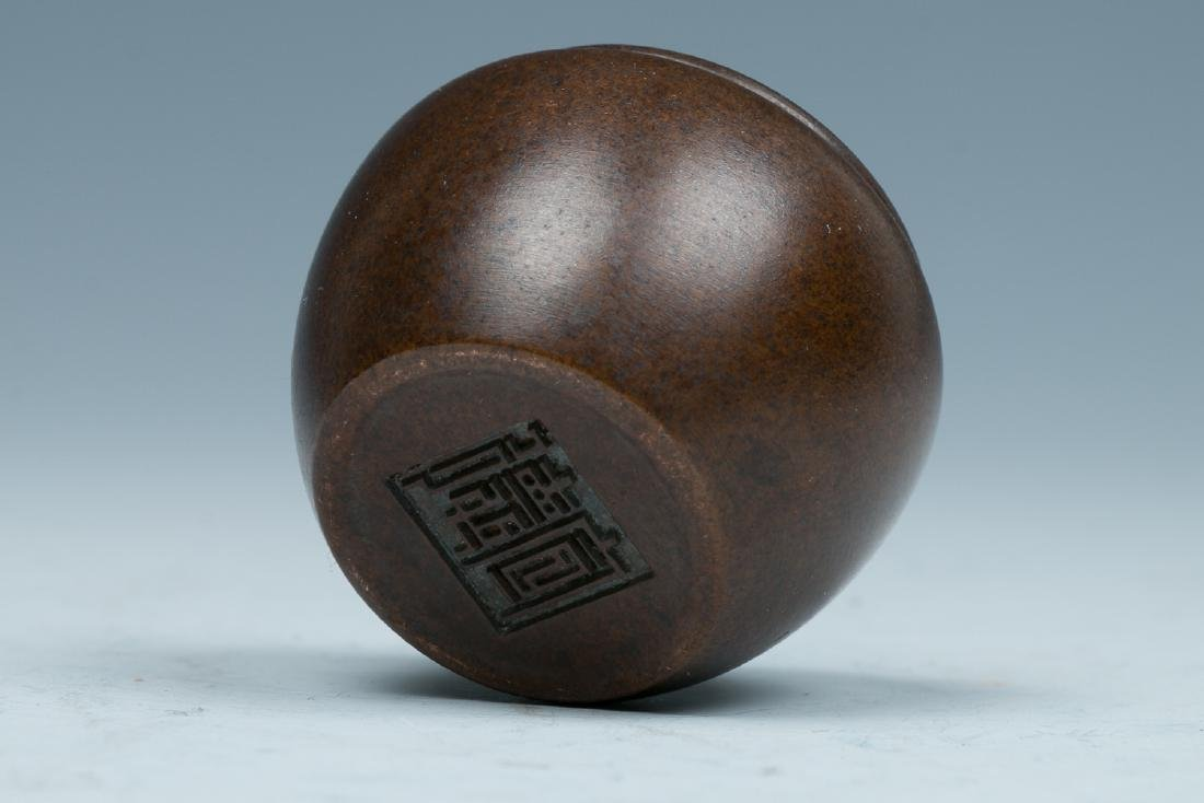XUANDE BRONZE CENSER, LATE QING TO REPUBLICAN - 3