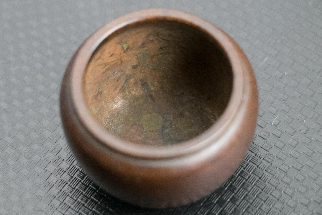 XUANDE BRONZE CENSER, LATE QING TO REPUBLICAN - 5