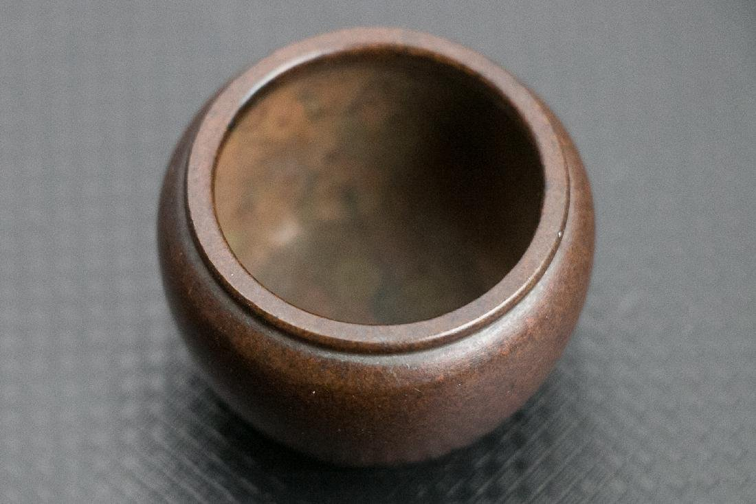XUANDE BRONZE CENSER, LATE QING TO REPUBLICAN - 6
