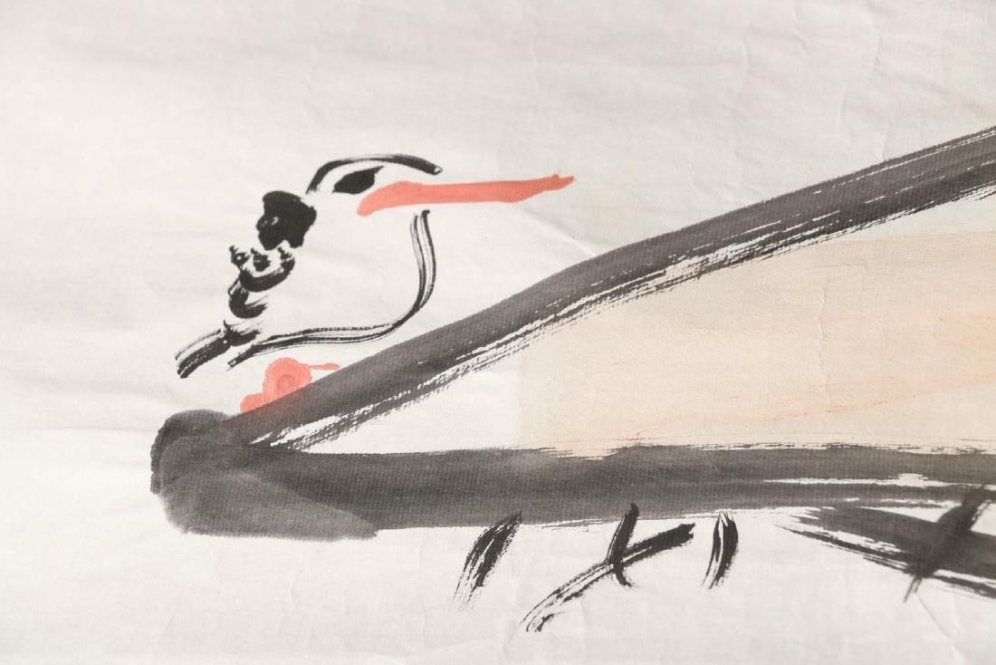 DING YANYONG (1902-1978) KING FISHERS & LOTUS 1965 - 6