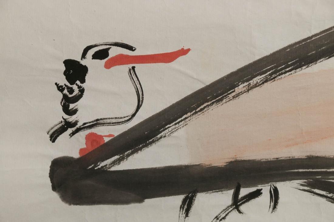 DING YANYONG (1902-1978) KING FISHERS & LOTUS 1965 - 9