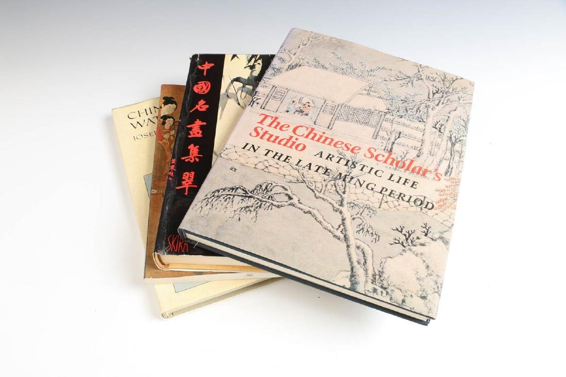 FOUR VOLUMES ON CHINESE PAINTING