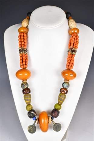 Sino-Tibetan Prayer Necklace