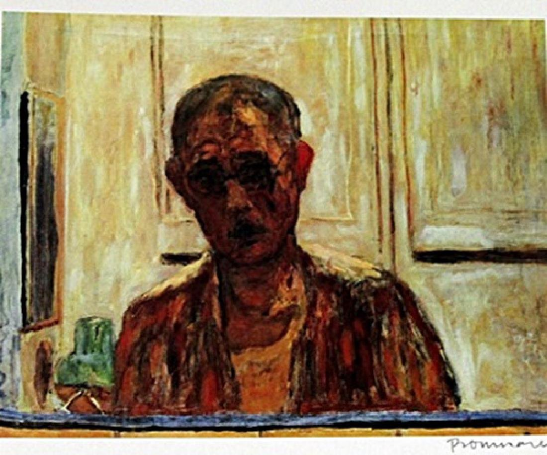Bonnard - Self-portrait - Lithograph