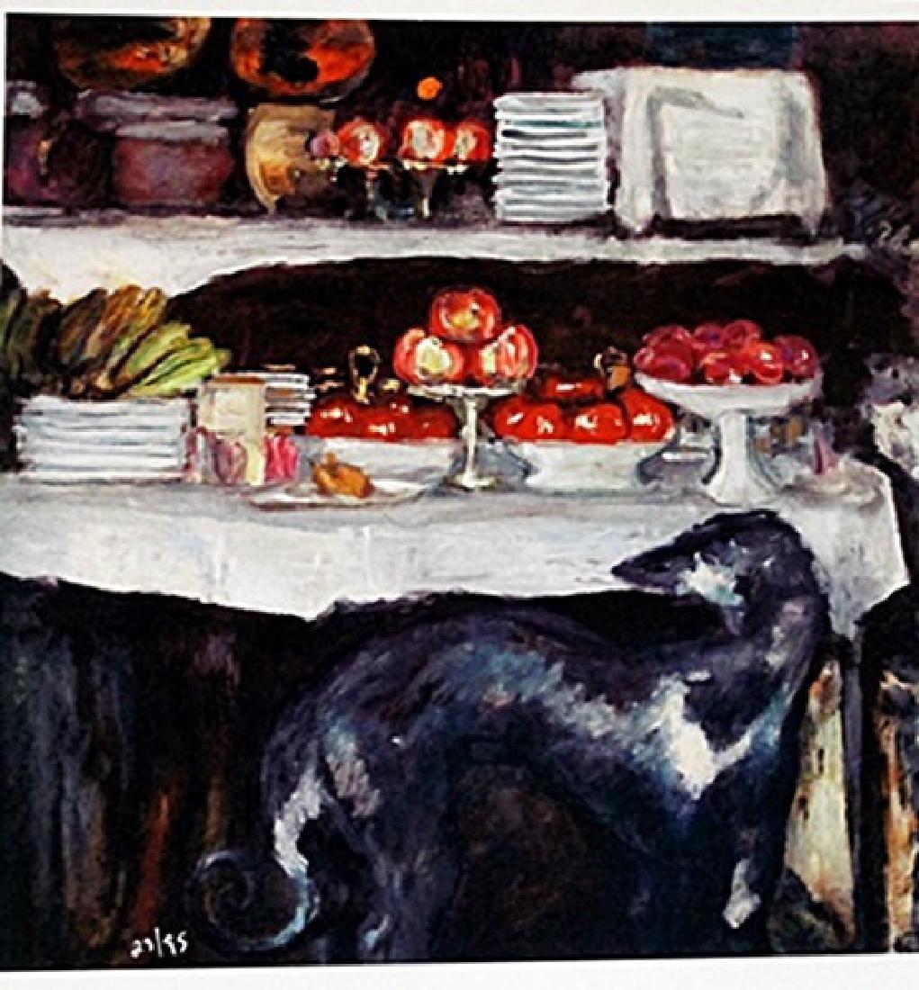 Bonnard - Greyhound And Still Life - Lithograph