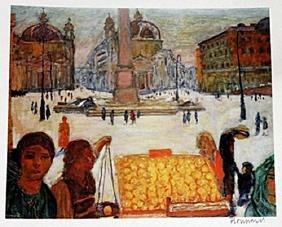 Bonnard - Morning In Paris - Lithograph
