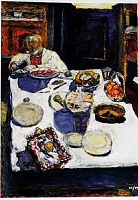 Bonnard - The Table - Lithograph