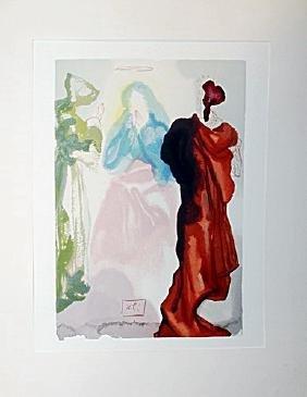 """Dali """"Heaven Canto 33"""" The Divine Comedy"""