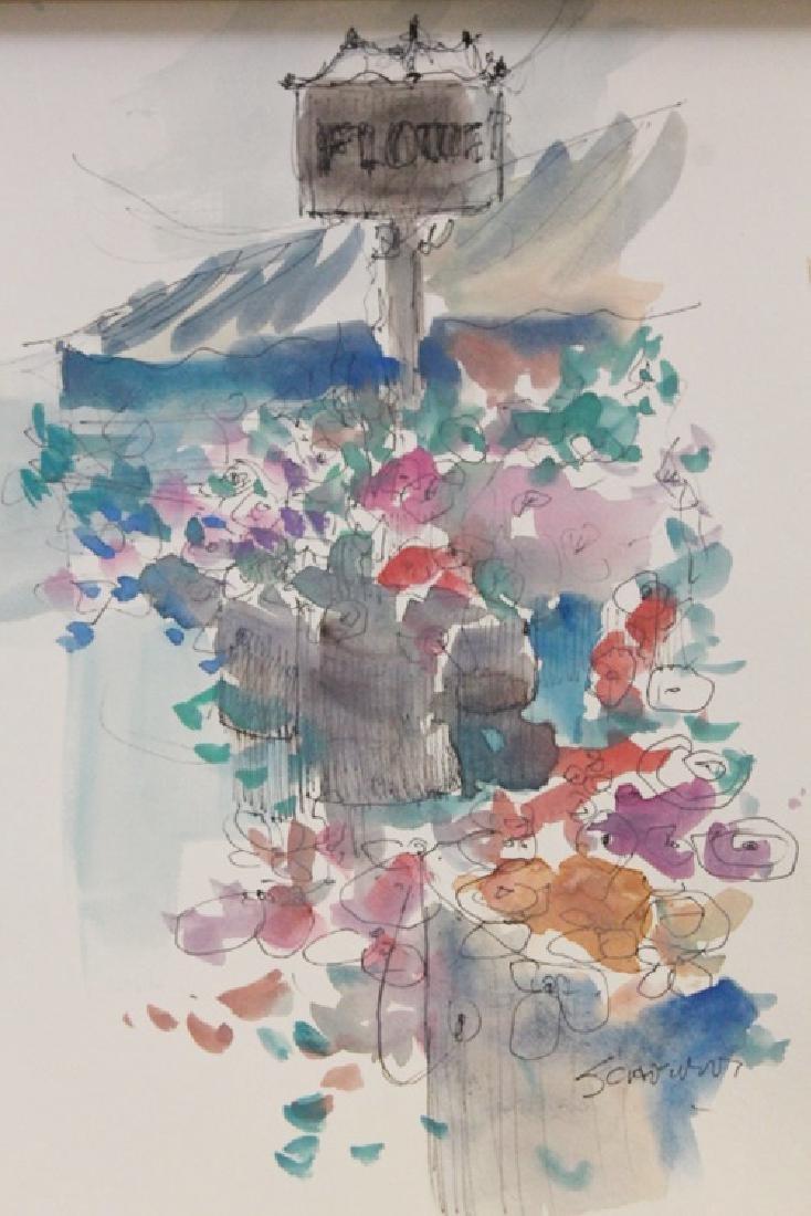 """FLOWER SHOP"" BY MICHAEL SCHOFIELD"