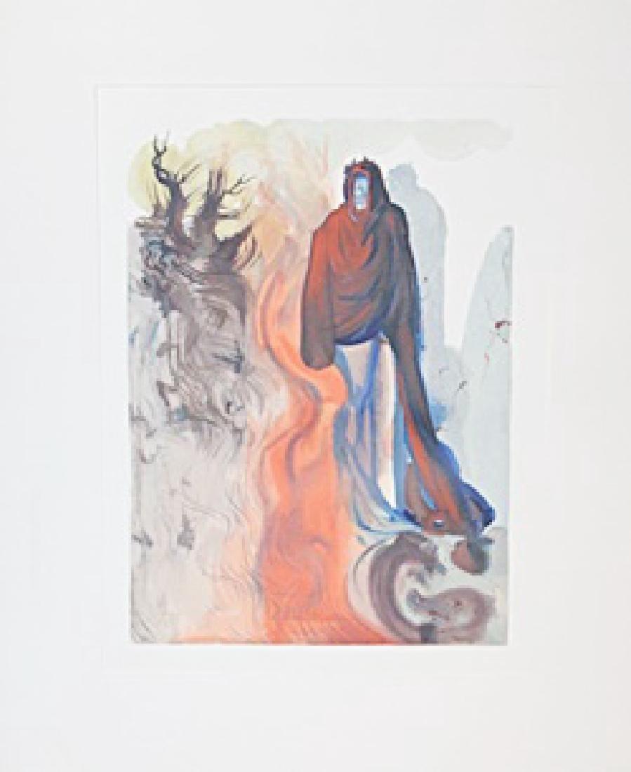 """Dali """"Hell Canto 34"""" The Divine Comedy"""