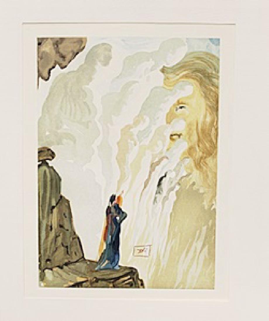 """Dali """"Purgatory Canto 12"""" The Divine Comedy"""