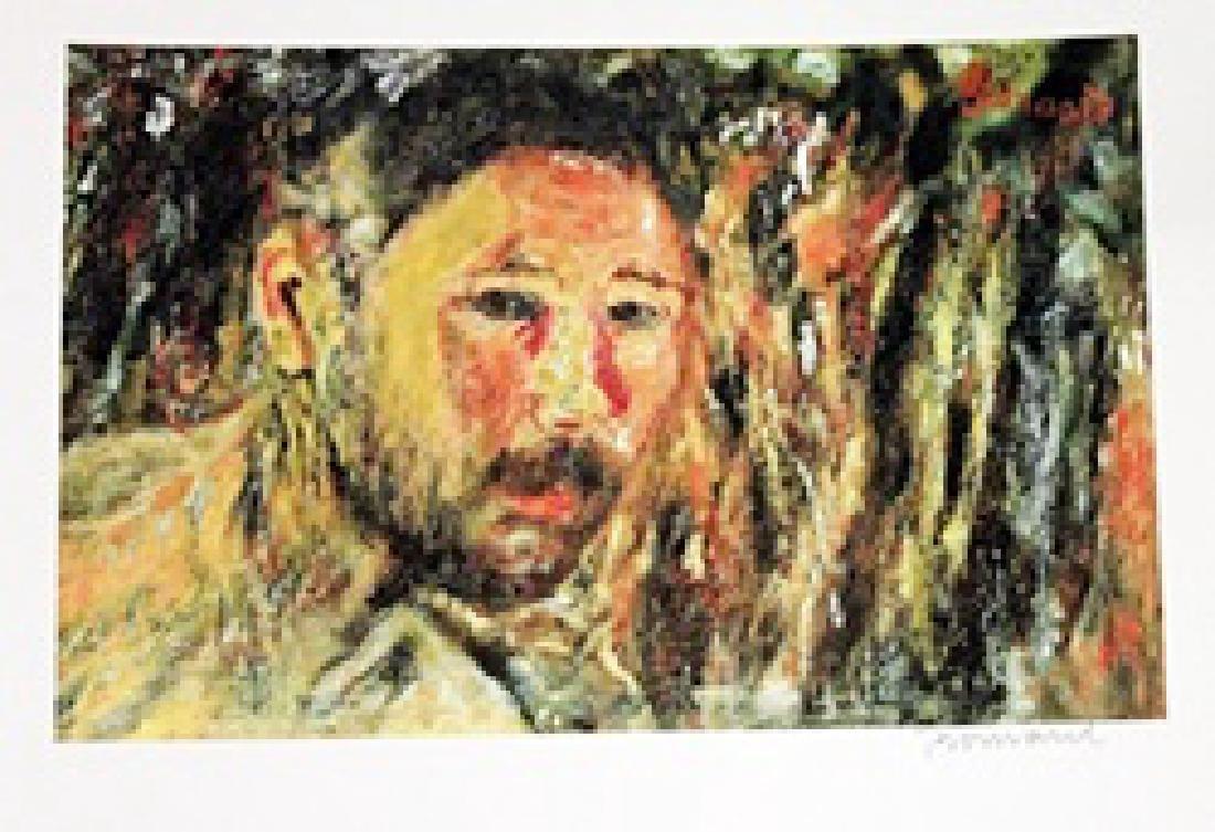 Bonnard - Self Portrait With A Beard - Lithograph