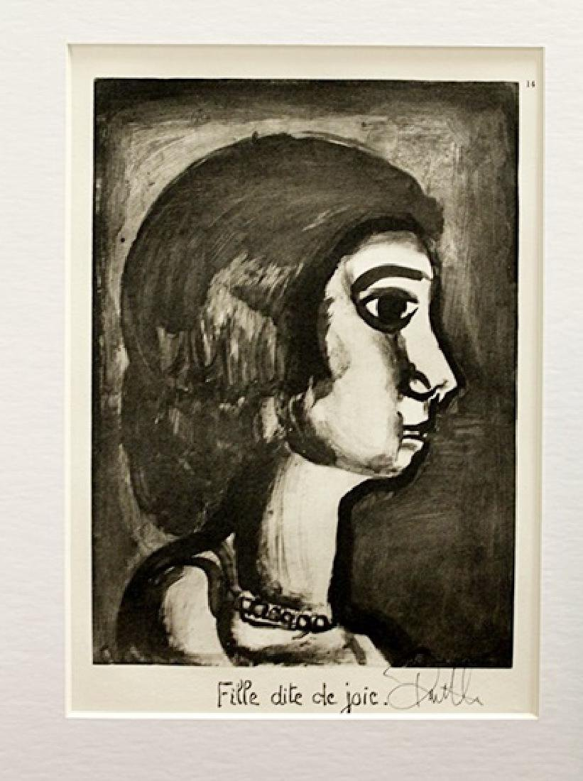 Georges Rouault Signed Lithograph 89