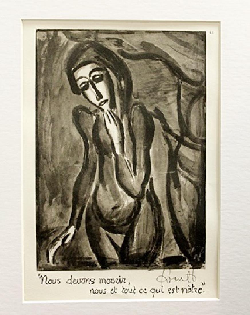 Georges Rouault Signed Lithograph 19