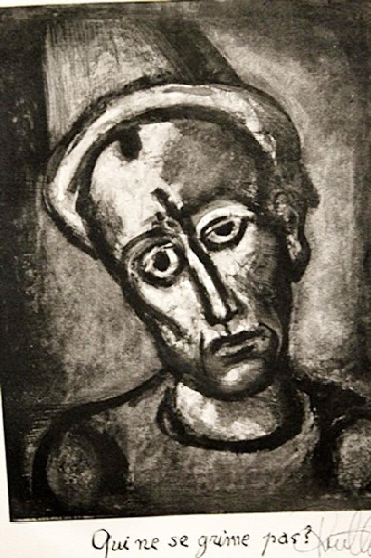 Georges Rouault Signed Lithograph 384 - 2