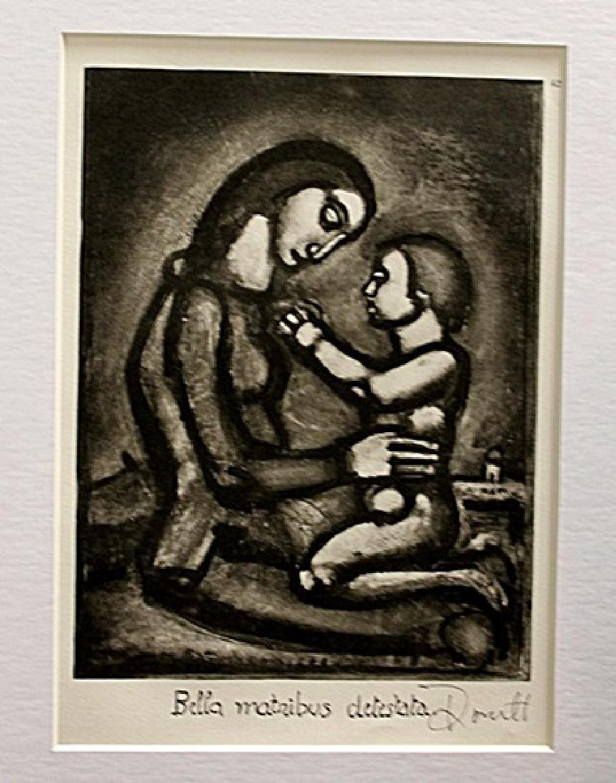 Georges Rouault Signed Lithograph 20