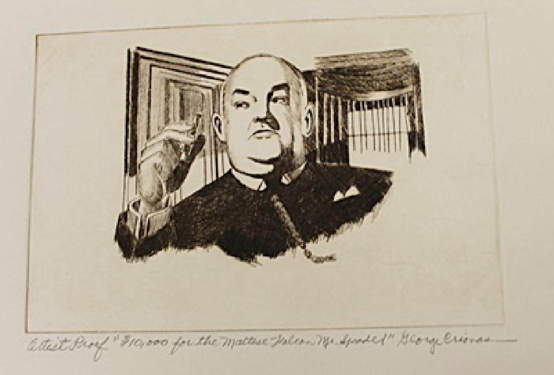 George Crionas - Lithograph