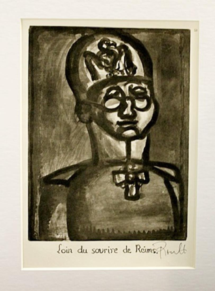 Georges Rouault Signed Lithograph 12