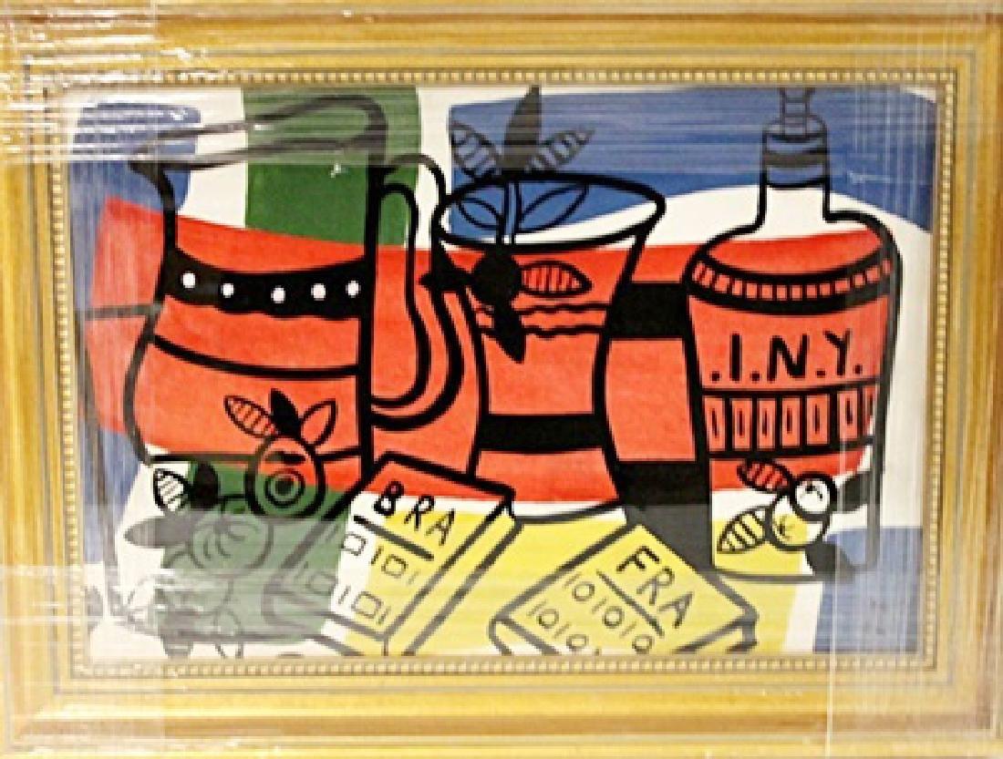 Fernand Leger - Still Life - Oil on paper