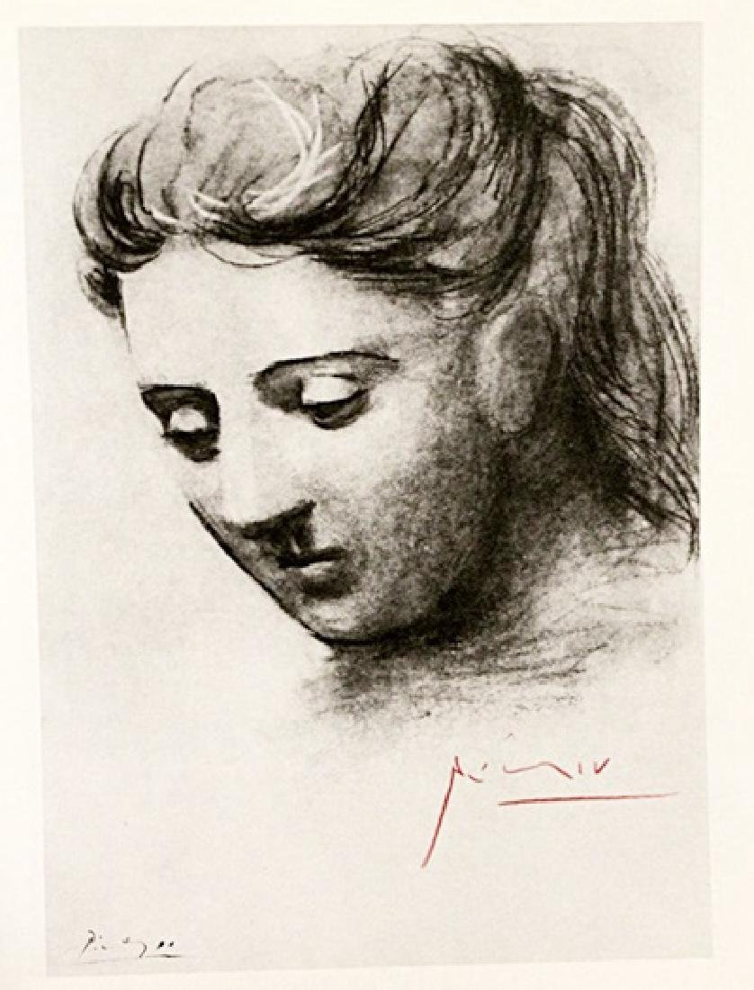 Pablo Picasso Signed Lithograph 286