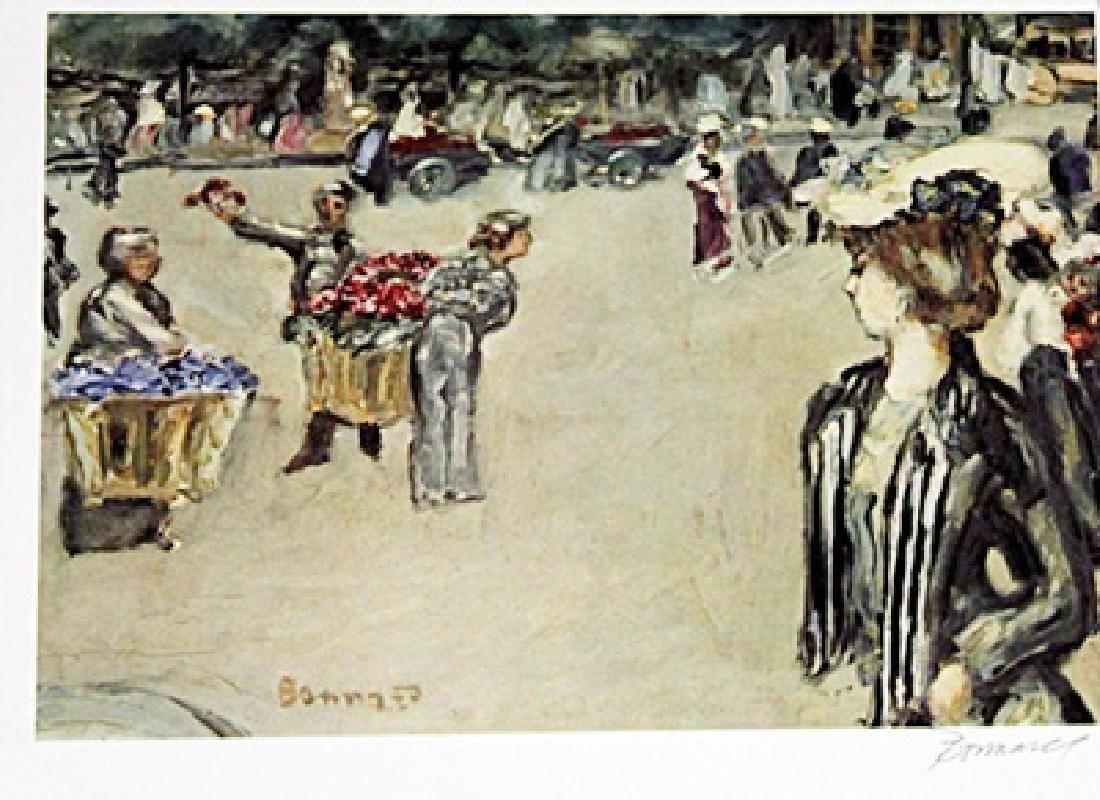 Bonnard - Evening In Paris - Lithograph