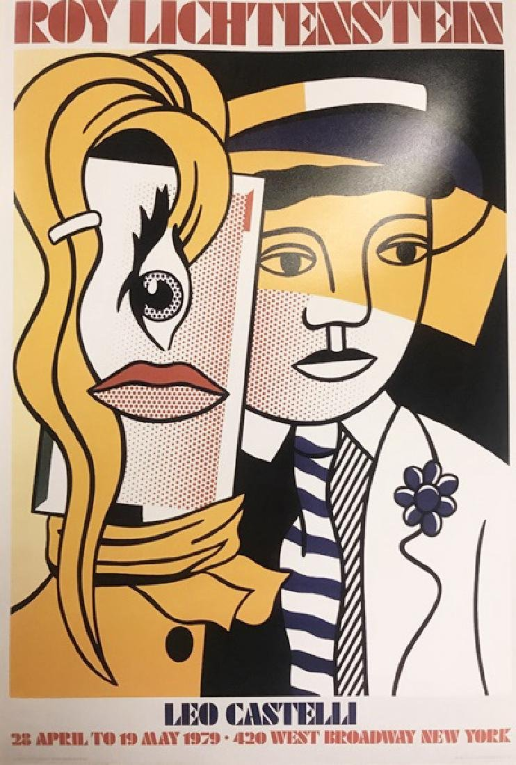 Roy Lichtenstein Lithograph - Stepping Out