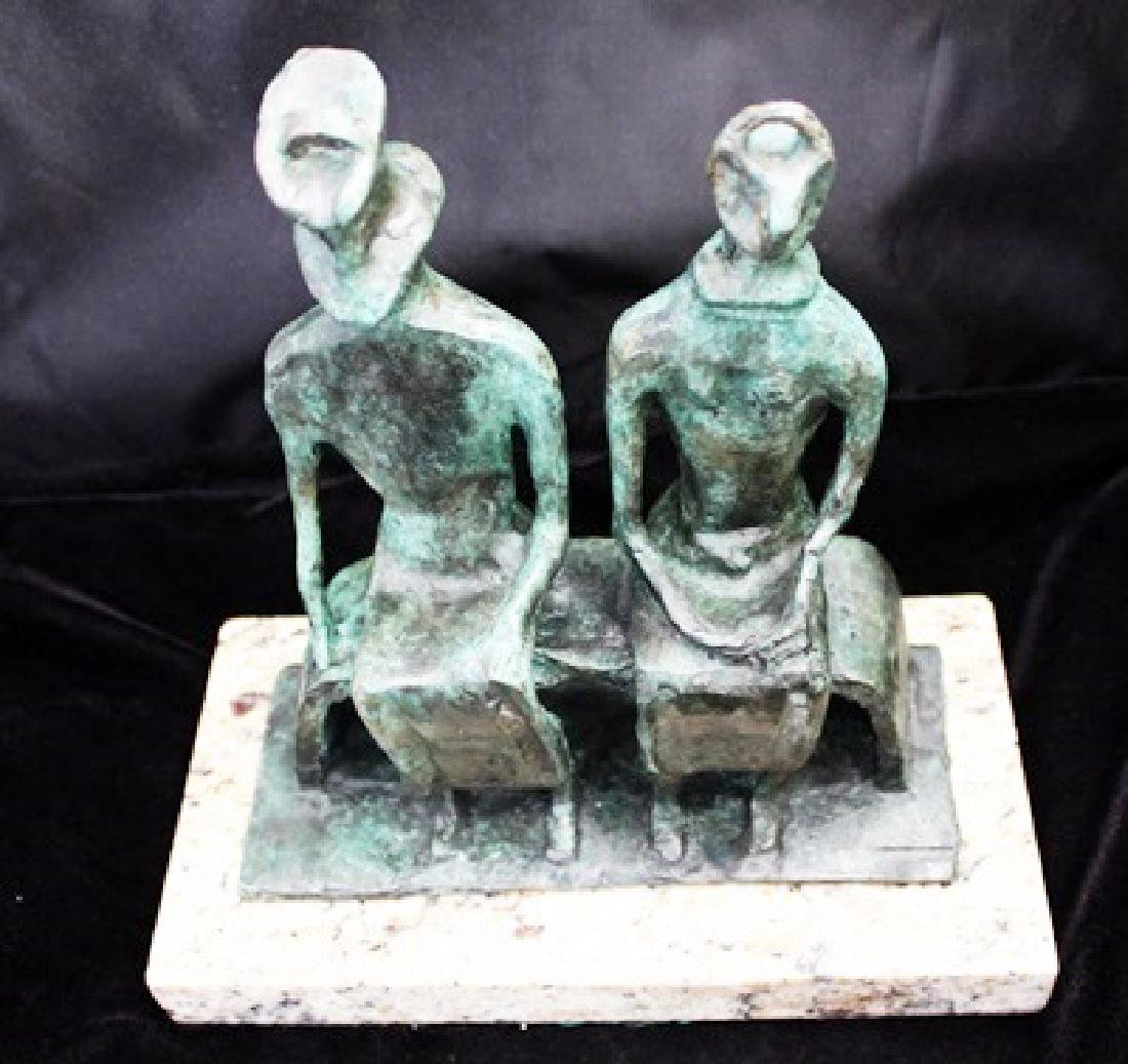 Signed Limited Edition Bronze Moore - 2