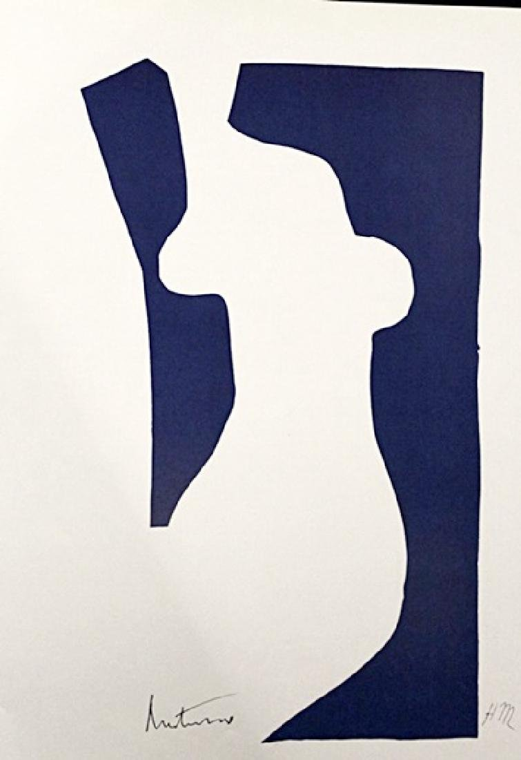 Henri Matisse Signed Lithograph 343