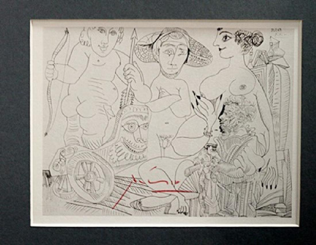 Pablo Picasso Signed Lithograph 39