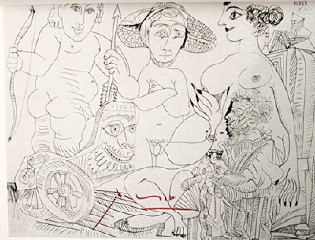 Pablo Picasso Signed Lithograph 39 - 2
