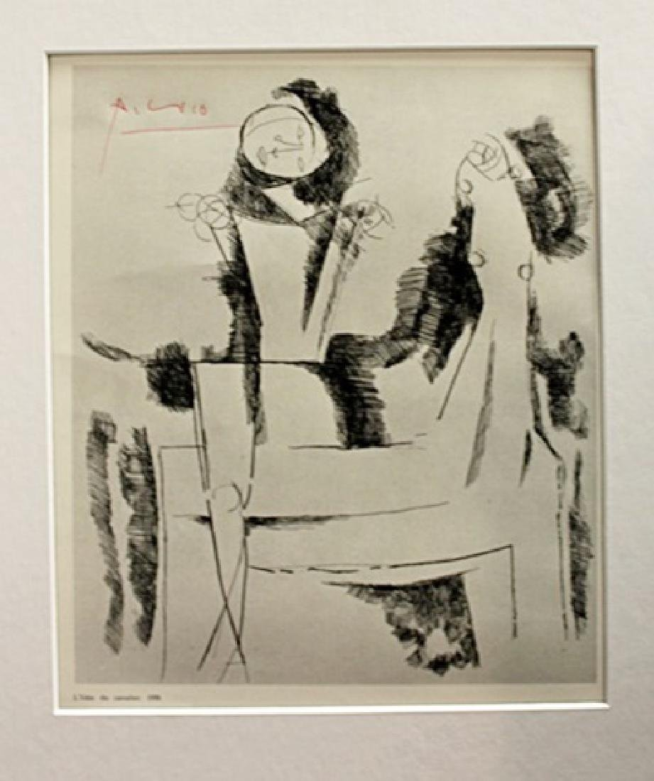 Pablo Picasso Signed Lithograph 26